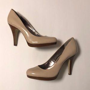 Alfani Platform Nude Heels